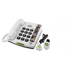 Teléfono de alarma con telemando inalámbrico CARE PLUS
