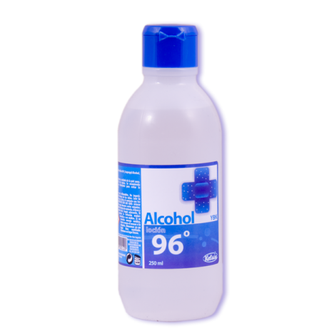 Alcohol 96º botella 500cc