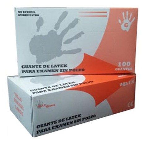 Caja guantes de latex Talla G