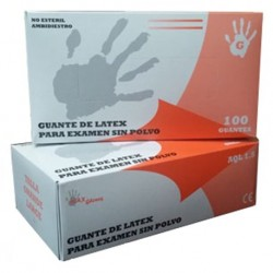 Caja guantes de latex Talla M