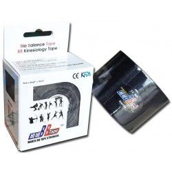 Venda Neuromuscular BB Tape 5cm 32m Negro