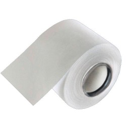 Tape de colores 3,8cmx10m color blanco 12 unidades