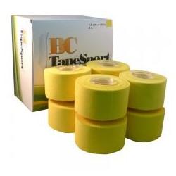 Bc tape Sport caja de 8 unidades amarillo