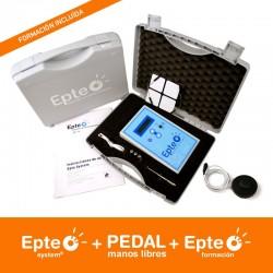 Epte: Maletín portátil de corriente galvánica para Electrólisis + Curso de Formacion