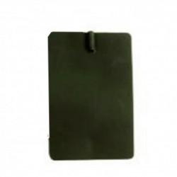 Electrodo flexible de caucho 8x12 cm (1 unidad)