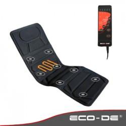 Colchoneta de masaje con 8 vibromotores y calor lumbar ECO-DE ECO-920