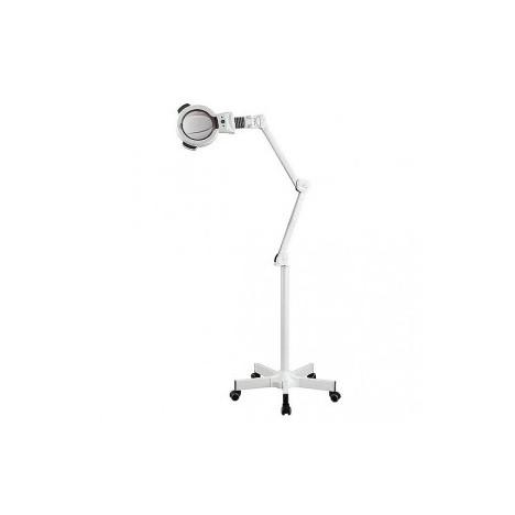 Lámpara de Aumento Zoom LED de 5 Dioptrías con Luz Fría (base rodable)