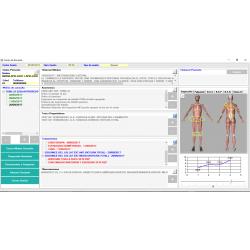 Software dirigido a Osteópatas y fisioterapeutas. Programa infor