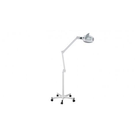 Lámpara leds 5 aumentos (base de ruedas)