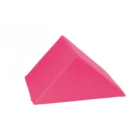 Cojín triangular grande