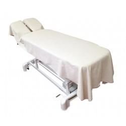 Toalla-sábana protectora orificio rectangular 100x250