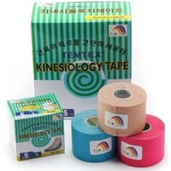 Packs ahorro Temtex Kinesiology tape 5cm X 5m 6 Rollos