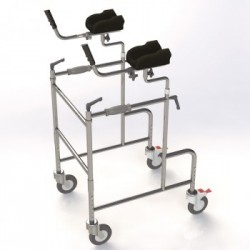 Caminador con soporte de antebrazo