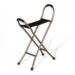 Bastón con asiento '4 patas'