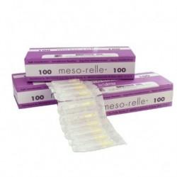 Aguja Mesoterapia Meso-relle 0.3 X 4 Mm