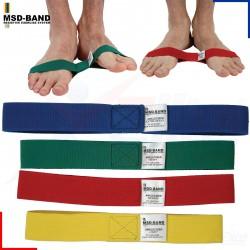 Banda elástica diseñada especialmente para tobillos. Set de 4 unidades