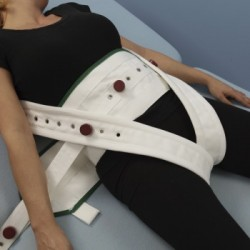 Cinturón abdominal con cinturones pélvicos