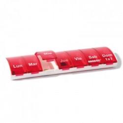 Expositor de pastilleros diarios 'Anabox' 1x7 (12 unidades)
