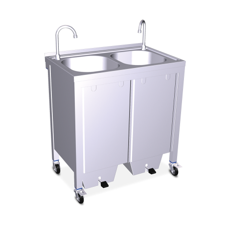 Lavamanos registrable portátil autónomo grandes eventos