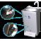 Lavamanos portátil autónomo automático de doble pulsador, agua fría y caliente