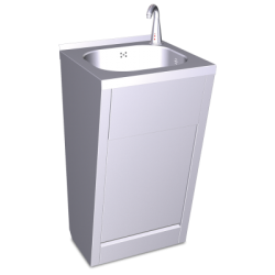 Lavamanos registrable electrónico a pilas agua fría y caliente