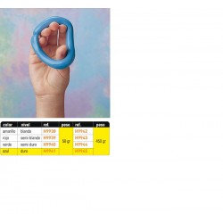 Masilla de ejercicio, color GRIS, extraduro 57 gr