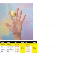 Masilla de ejercicio verde semidura 454 gr
