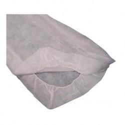 Sabanilla Blanca Ajustable de polipropileno Kinefis plus 40 gr 80 cm x 210 cm 100 unidades