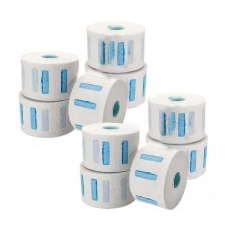 5 rollos papel cuello elástico 100 servicios (cajas completas)