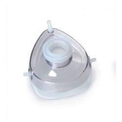 Mascarilla para reanimación de silicona pediatrico autoclavable. tamaño 3