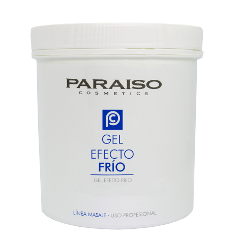 Gel reafirmante efecto frío masaje profesional Paraíso 1000 ml