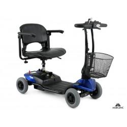 Scooter eléctrico con 4 ruedas Compacta y Desmontable Color Azul Modelo Virgo