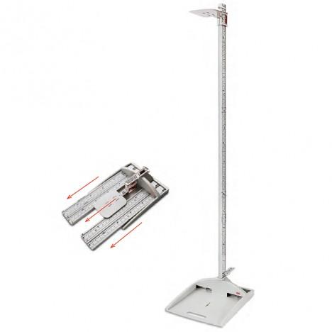 Estadímetro Portátil con Base ADE: Medición de 15 - 210 cms