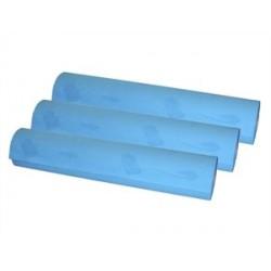 Papel de camilla de 1 capa sin precorte color azul