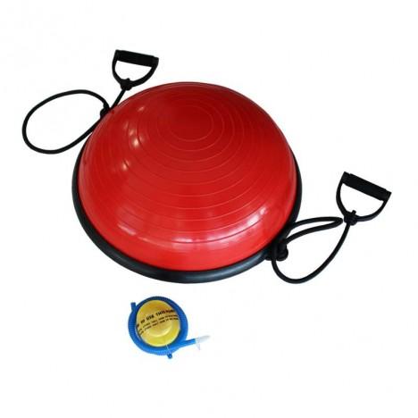 Bosu balance air 55 cm de diametro Rojo