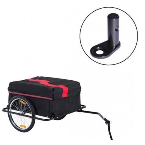 Outsunny Pieza de Acople de Repuesto para Enganche del Remolque Bicicleta de Niños Bebes