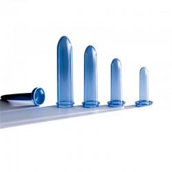 Set de dilatación vaginal Feminaform (incluye 4 dilatadores + mango universal + lubricante básico + estuche + instrucciones)