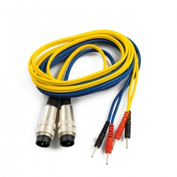 Conjunto de 2 Cables New Age: Compatible con Electroestimulador Biophysio