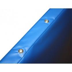 Colchoneta reforzada new 200 x 100 x 10cm densidad 20 (funda ignifuga con cantoneras y asas)