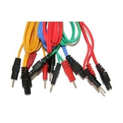 Set de 4 cables Gris 6P/ Wire