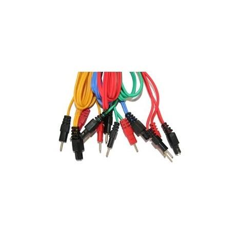 Set de 4 cables Gris 6P/ Wire