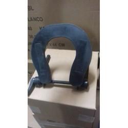 Recambio soporte cabezal camilla aluminio