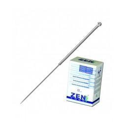Aguja Plata Cabeza Sin Guía 0.30 X 75mm AZP3075