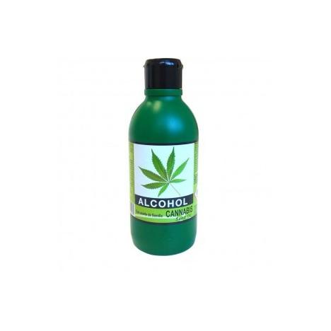 Alcohol de Cannabis 250 ml: Propiedades antiinflamatorias y relajantes