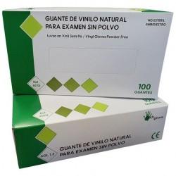 Guantes de Vinilo Natural
