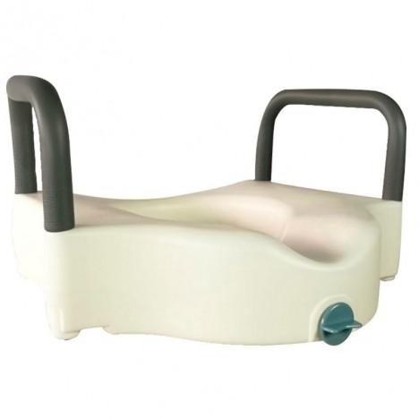 Elevador WC de PVC reposabrazos