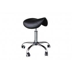 Taburete ergonomico color negro