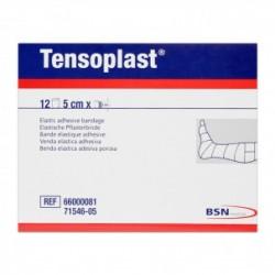Tensoplast 5 cm x 4,5 metros: Venda elástica adhesiva (Caja de 12 unidades)