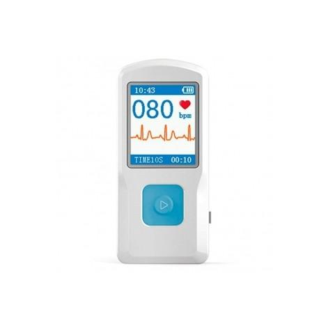 Electrocardiógrafo portátil ECG pantalla a color