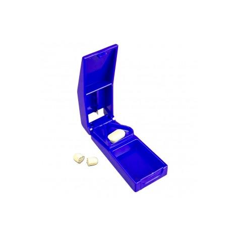 Cortador de comprimidos con contenedor